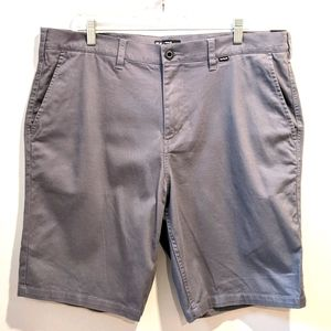 NWT Hurley men's regular fit grey shorts sz 36